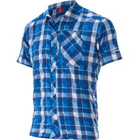 Löffler KA Kortærmet T-shirt Herrer grå/blå